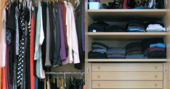 armadio perfetto cinque regole organizzazione ordine