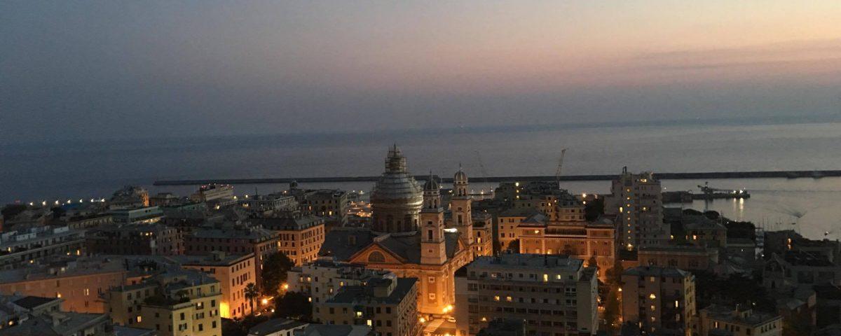 Terrazza Colombo Genova Per Noi Mariangela Guido