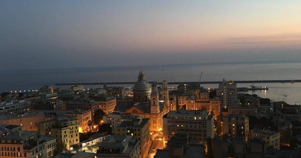 Terrazza Colombo vista panoramica
