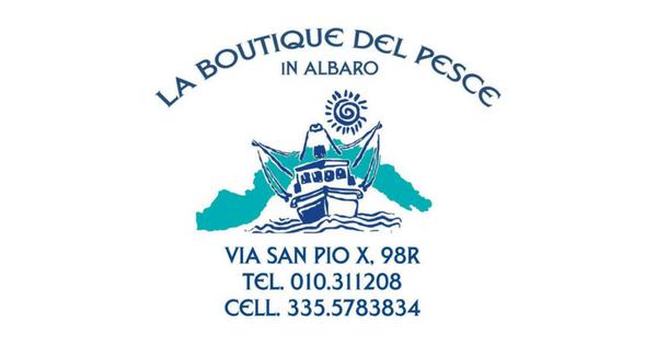 La Boutique del pesce nuovo logo