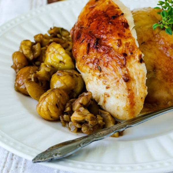 Pollo con le castagne copertina