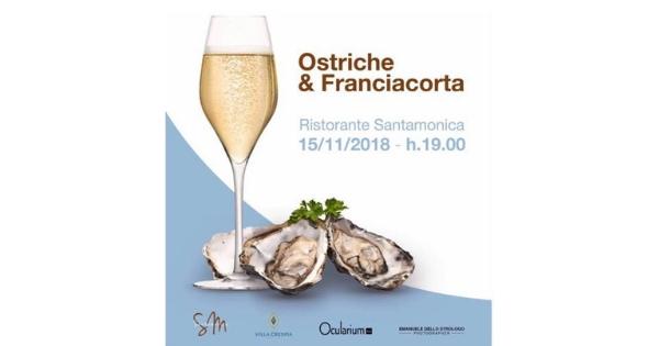 Ristorante Santamonica evento ostriche nov 2018