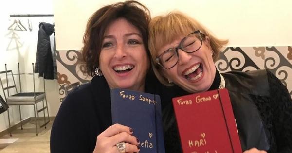 Lauretta e Mari con Agenda