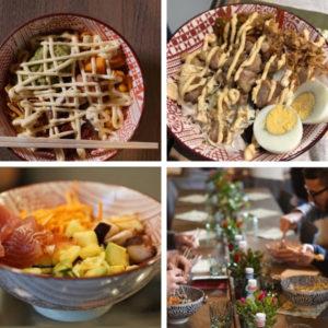 Poké and Bowl collage