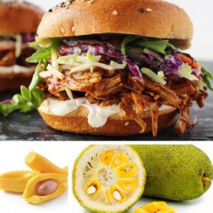 jackfruit e hamburger di jackfruit