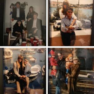 Una lunga storia d'amore collage