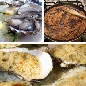 ostriche gratinate
