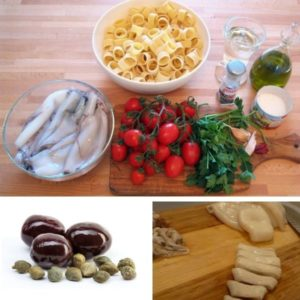 calamarata ingredienti