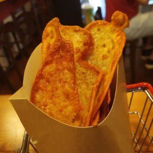 street food chips