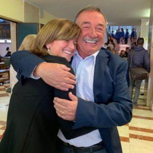 Champagnat ravettino e Giorgia Noli