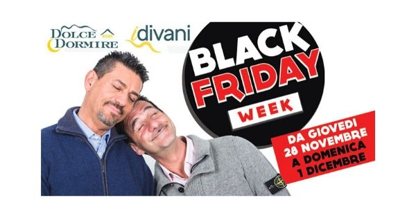 black friday rilassante